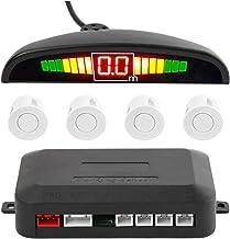 $47 » Vehicle Radar Detector Universal Car LED Parking Sensor with 4 Sensors Reverse Backup Car Parking Radar Monitor Detector S...
