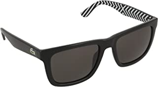 Reverse Stripe Wayfarer Sunglasses in Black L750S 001 54