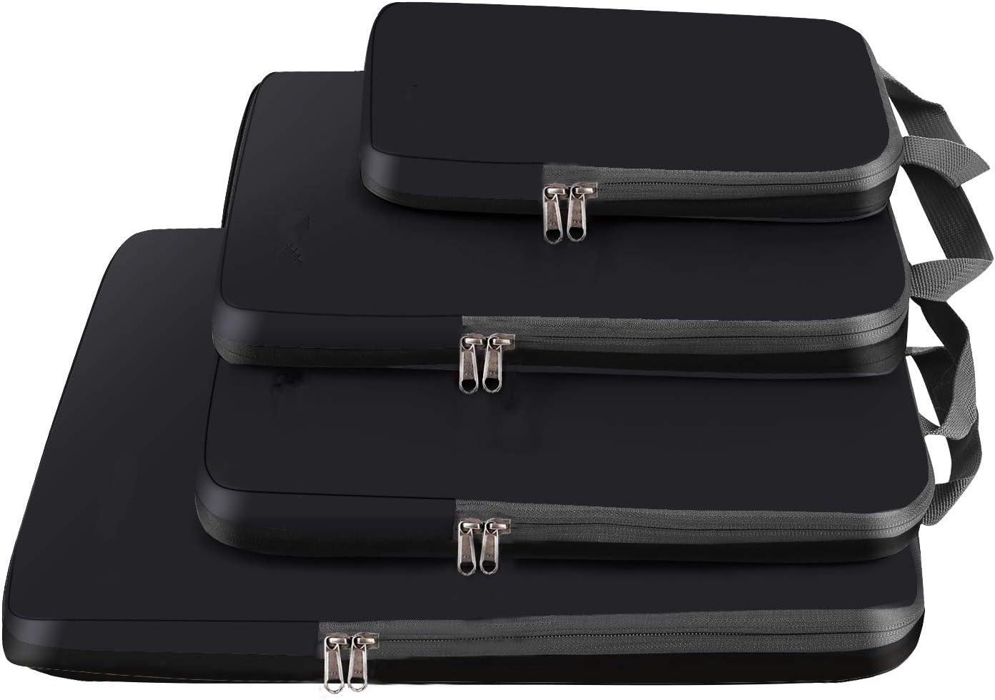 Flamingo,4 Set Bagail 4 Set//6 Set Compression Packing Cubes Travel Expandable Packing Organizers