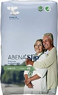 Abena Slip L0, Hepsi Bir Arada Ped, Kalça/Bel Ölçüsü 100-150 cm/39-59 inç, 1500 ml Emici, 4'lü Paket Kutusu