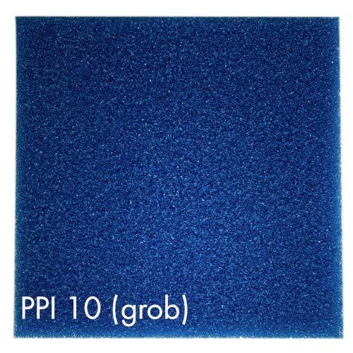 Pondlife Teich - Filterschaum/Filtermatte BLAU 100 x 100 x 7 cm grob PPI10