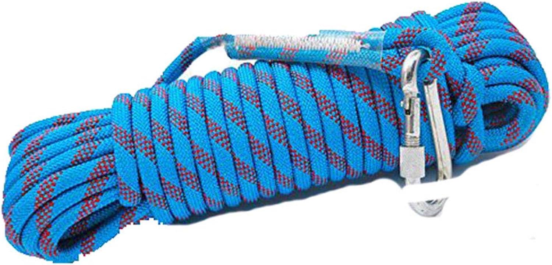 ANHPI Klettern Seil Abseilen Kletterausrüstung Sicherheitskabel Outdoor-Ausrüstung,Blau-70m10.5mm B07FLHGXP5  Günstiger