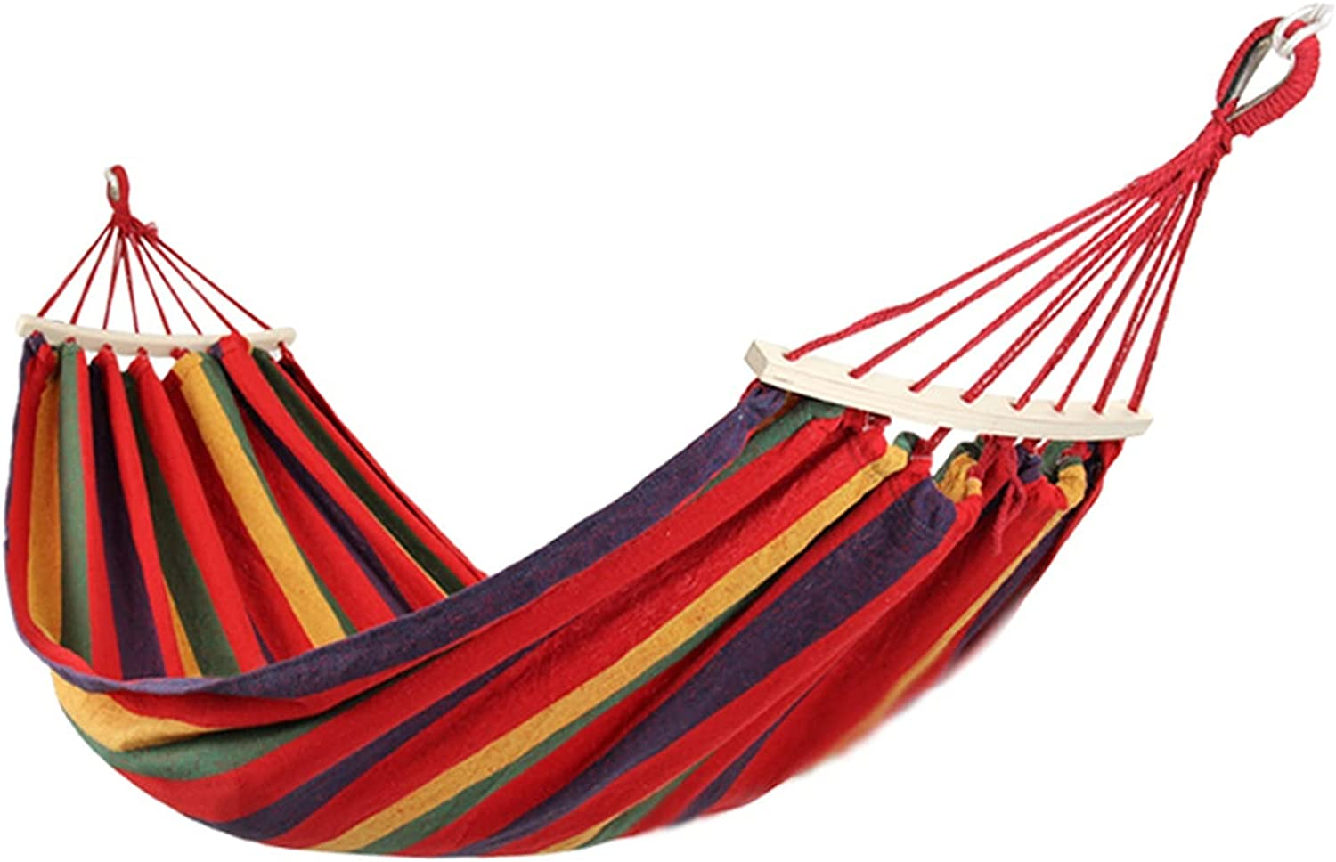ZWDP Shopping Hero Luxury Single Hammock Cotton Wide Extra Pole Inexpensive Max 83% OFF
