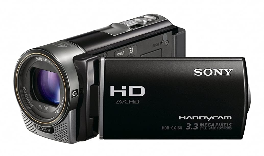 Sony HDR-CX160 High-Definition Handycam Camcorder (Black) (Discontinued by Manufacturer) oyedwvrm91349