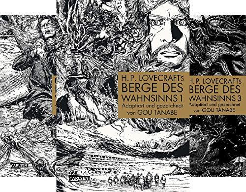 H.P. Lovecrafts Berge des Wahnsinns (Reihe in 4 Bänden)