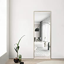 "NeuType Full Length Mirror Floor Mirror Dressing Mirror 55""x16"" Large Rectangle Bedroom Mirror Wall-Mounted Mirror Alumini..."
