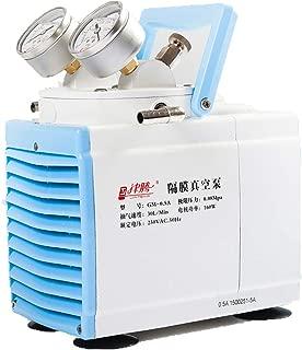 KUNHEWUHUA 30 L/min Oilless Diaphragm Vacuum Pump Oil Free Mute Pump 115v 60Hz
