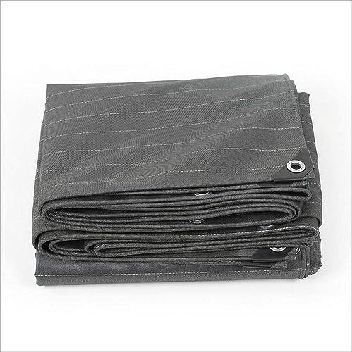 WATERPROOF CLOTH HOME Toile imperméable épaisse bache de toile épaisse, bache de prougeection solaire imperméable à la pluie, tapis de pique-nique coupe-vent à l'épreuve de la poussière extérieure, rési