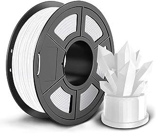 SUNLU PLA 3D Printer Filament, 1.75mm PLA Filament, 2.2LBS (1KG) 3D Printing Filament for 3D Printers 3D Pen, White