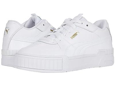 PUMA Cali Sport (Puma White/Puma White) Women