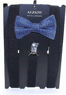 Alfani Mens Mars Speckled Party Y Shape Suspenders