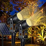 DLLT LED Solar Spot Lights Outdoor Landscape...