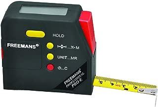 FREEMANS Digital Measuring Tape (5 m, 19 mm, Black)