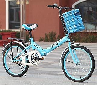 ZTBXQ Regalo Deportivo ldeas Freestyle Bicicletas para niños Bicicleta Plegable de 16 Pulgadas Bicicleta para niños Adulto...