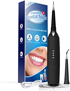 Best Ultrasonic Tooth Cleaner, iFanze Plaque Remover for Teeth - Quick Solution for Calculus, Tartar, Dental Plaque, Teeth Stains Professional Tartar Remover for Teeth (Black) Review