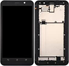 iPartsBuy for Asus Zenfone 2 ZE551ML Z00AD Z00ADB Z00ADA LCD Screen + Touch Screen Digitizer Assembly with Frame(Black)