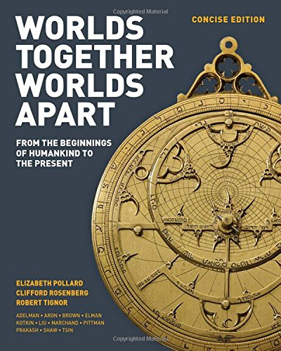 Worlds Together, Worlds Apart: A History of the World: From the Beginnings of Humankind to the Present (Concise Edition)