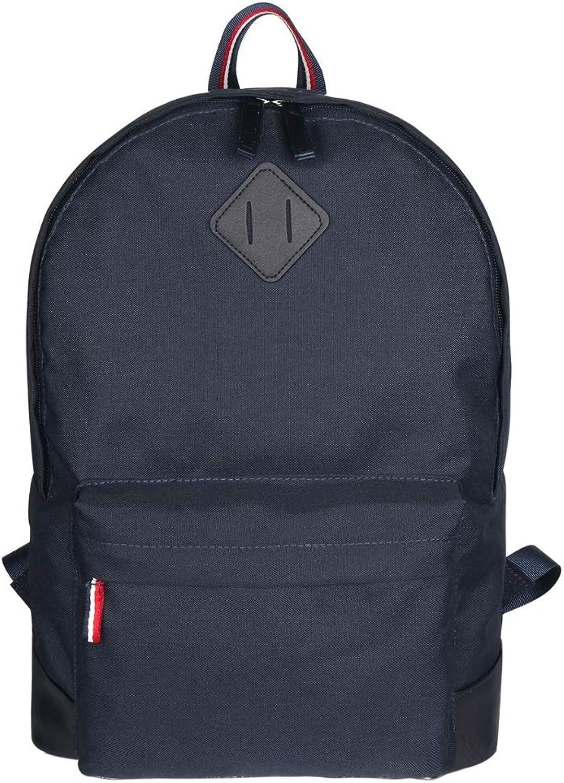 KCSds Outdoor-Freizeit-Rucksack, einfarbig, Rucksack, geeignet für Studenten, Schulzeit, Rucksack (Farbe   Blau)