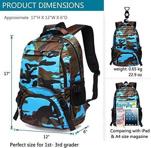 Camo school backpack _image0