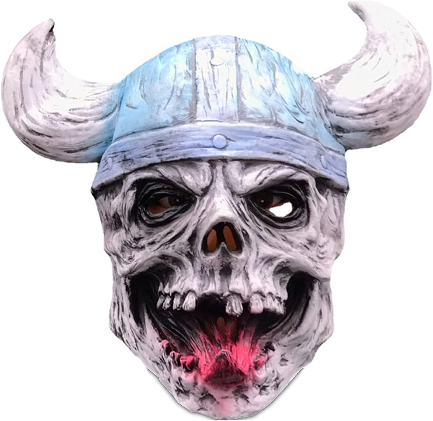 OFFicial shop Halloween Latex Skull Pirate Mask Costume Corsair O Under blast sales Scary