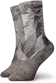Kevin-Shop, Calcetines mágicos de Tobillo de Roca volcánica Calcetines Casuales y acogedores para Hombres, Mujeres, niños