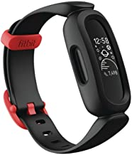 Fitbit Ace 3, Activity Tracker for Kids 6+ with Animated Clock Faces, Up to 8 days battery life & water resistant up to 50...