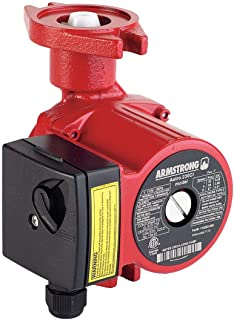 Circulator Pump, Closed, 115V, 1/8 HP