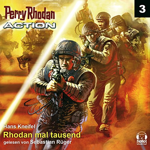 Rhodan mal tausend audiobook cover art