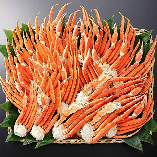 蟹 ハサミ ズワイガニ タラバガニ 食べ比べ 二大蟹 計4.8kg 約10-15人前 北国からの贈り物