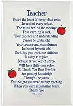 CafePress Teacher Thank You Rectangle Magnet, 2