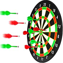 BETTERLINE Magnetic Dartboard Set - 16 Inch Dart Board with 6 Strong Magnet Darts for Kids and Adults - Gift for Game Room...