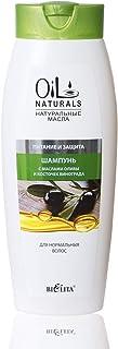 Bielita & Vitex Oil Naturals Line | Nutrition & Protection Shampoo for Normal Hair, 430 ml | Grape Seed Oil, Silk Proteins, Olive Oil, Vitamins