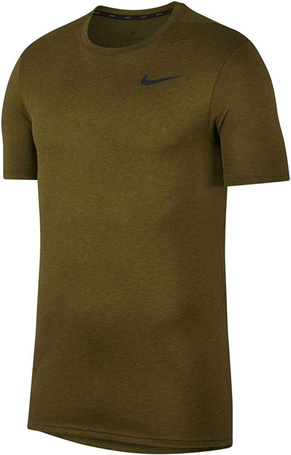 Nike OFFicial store Men's Dri-Fit Gifts Breathe Short Training Top Sleeve