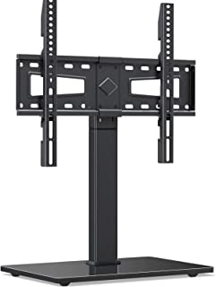 MOUNTUP Universal TV Stand, Table Top TV Stands for 37 to 70 Inch Flat Screen TVs - Height Adjustable, Tilt, Swivel TV Mou...