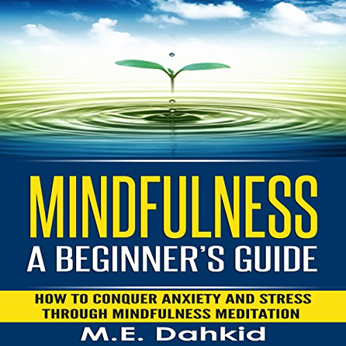 Mindfulness: A Beginner's Guide: How to Conquer Anxiety and Stress through Mindfulness Meditation audiobook cover art