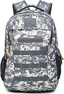 outdoor plus Camo Backpack for Teen Boy USB Charging Port Hiking Daybackpacks
