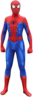Cosplay Costumes Unisex Lycra Spandex Bodysuit Halloween New into The Spider Verse Miles Morales Adult/Kids