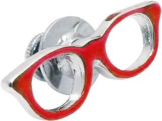 赤ぶちメガネ SWANK ピンズ ラペルピン P0192