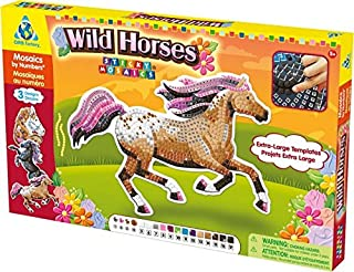 The Orb Factory Limited Sticky Mosaics Wild Horses