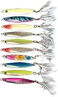 DERALA 10pcs Multiple Styles Bionic/Spoons Fishing Lures CrankBaits