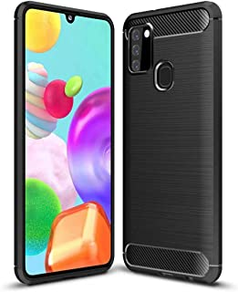 DOHUI for Xiaomi Poco C3 Case, Ultra Slim Shock Absorption Soft TPU Drawing Protective Cases Cover for Xiaomi Poco C3 (Black)