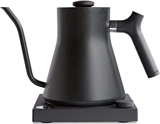 Fellow Stagg EKG Electric Pour-Over Kettle for Coffee and Tea Matte Black Variable Temperature Control 1200 Watt Quick Hea...