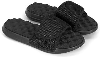 PR Soles Adjustable Strap Massaging Recovery Slide Sandal | Various Colors & Sizes