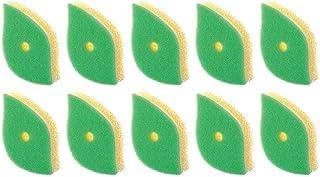 マーナ生活提案POCO葉っぱ型スポンジグリーン10個セット
