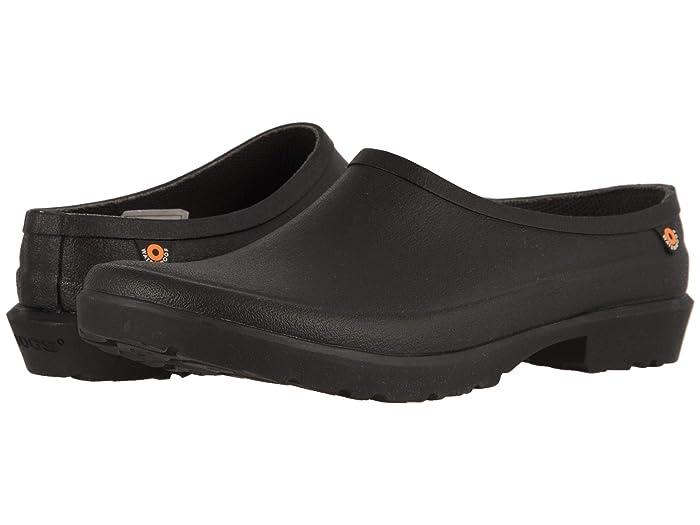 Bogs  Flora Clog (Black) Womens Rain Boots
