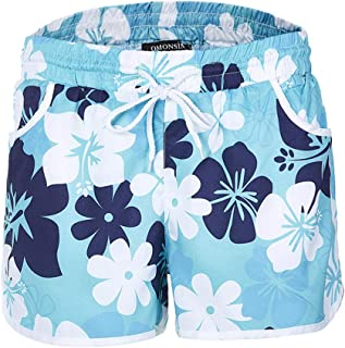 Hot Trousers Women Multi Color Floral Pants Print Hot Pants Beach Shorts