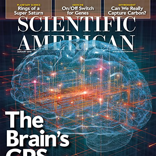Scientific American, January 2016 audiobook cover art