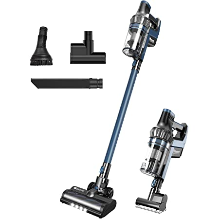 Proscenic P10 PRO Cordless Vacuum Cleaner, 4-in-1 Stick Handheld Vacuum with 25KPA Powerful Suction, LED Touch Screen, Removable Battery, 3 Ajustable Modes & Max 55Min Long Runtime