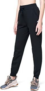 XGEAR Women's Fleece Lined Jogger Pants Drawstring Running Workout Sweatpants with Pockets