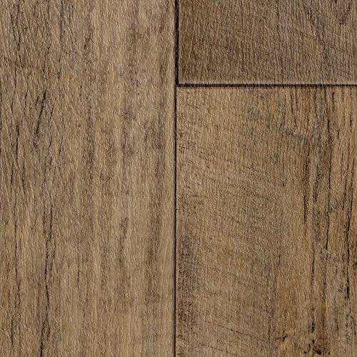 BODENMEISTER BM70400 Vinylboden PVC Bodenbelag Meterware 200, 300, 400 cm breit, Holzoptik Diele Eiche rustikal